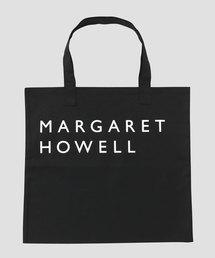 MARGARET HOWELL(マーガレットハウエル)のCOTTON LOGO BAG(トートバッグ)