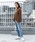 Vincent et Mireille(バンソンエミレイユ)の「Vincent et Mireille/バンソンエミレイユ HIGH NECK SWEATER 8GG AZE(ニット/セーター)」|詳細画像