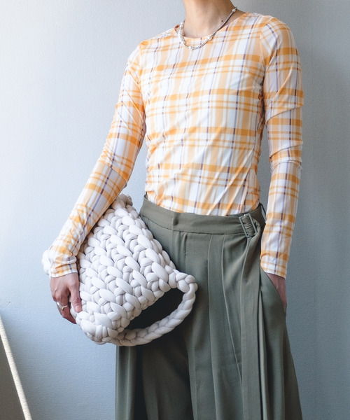 【chuclla】【2021/AW】Slim stacking street Tshirt chw21a036