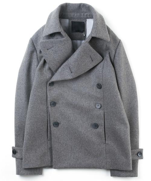 大人気新品 WOOL PEA DOUBLE CASHMERE CASHMERE DOUBLE MELTON PEA COAT(ピーコート)|OURET(オーレット)のファッション通販, 二戸市:9709354d --- heimat-trachtenbote.de