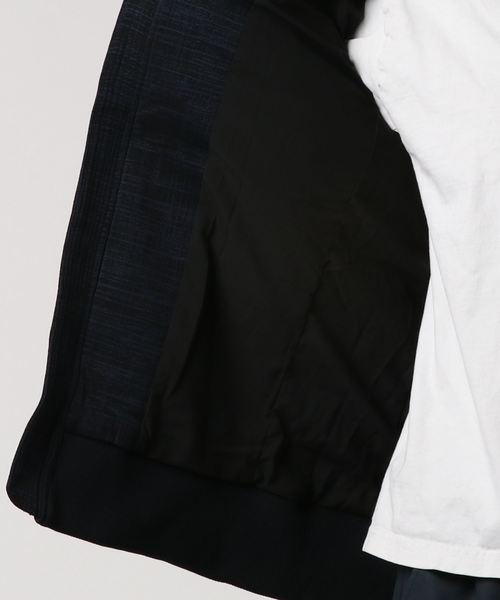 【1PIU1UGUALE3 RELAX ウノピゥウ ノウグァーレトレ】ストレッチジャガードダウンジャケット