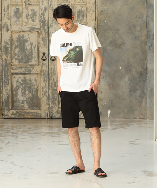 Keoni Haina別注プリントTシャツ
