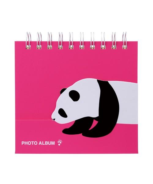 MARK'S(マークス)の「[L判サイズ・36枚収納可]フォトスタンドアルバム・アニマルこども/コルソ グラフィア(カメラ/カメラグッズ)」|ピンク