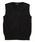 COMME CA ISM(コムサイズム)の「洗える ニット ベスト(140-160サイズ)(ニット/セーター)」|ブラック