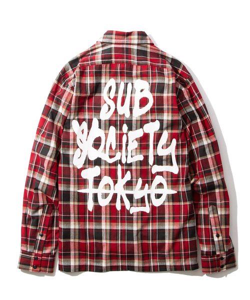 【気質アップ】 CHECK SHIRT -TAG-(シャツ/ブラウス) SHIRT|Subciety(サブサエティ)のファッション通販, シンデレラ:b581b8bb --- skoda-tmn.ru