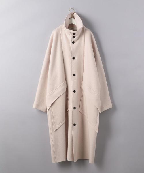 <sulvam(サルバム)>スタンドカラー コート