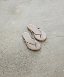 basic tong sandalベージュ