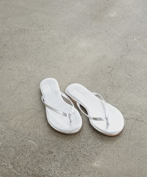 basic tong sandalシルバー