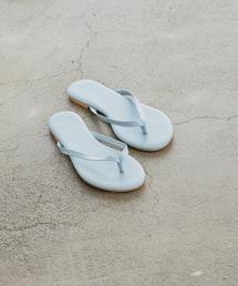 basic tong sandalブルー