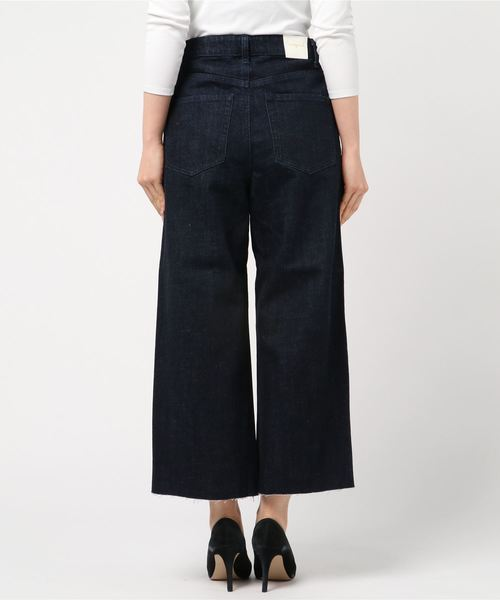 [WHEIR Bobson / ウェアボブソン] WIDE CROPPED JEANS