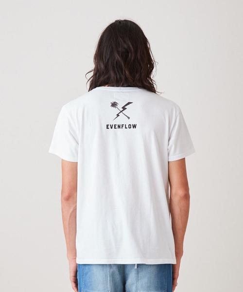evenflow イーブンフロウ / Upside-Down TEE 半袖プリントTシャツ EF-1010