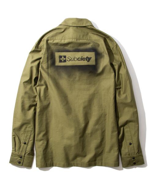 人気大割引 MILITARY EMBLEM SHIRT(シャツ EMBLEM/ブラウス)|Subciety(サブサエティ)のファッション通販, 自転車屋 黒ヒゲ:5dc142e1 --- pyme.pe