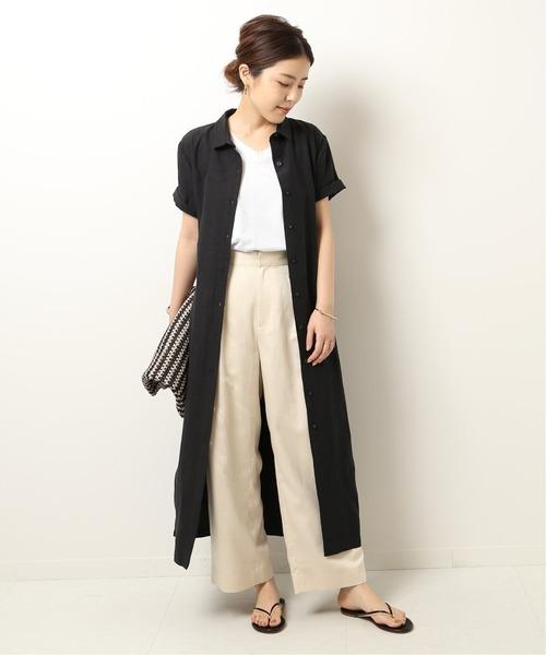 Spick & Span(スピックアンドスパン)の「【ST.AGNI】 CECILE DRESS◆(ワンピース)」 ブラック