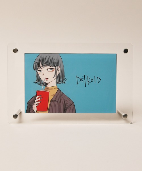 【DEPROID】Itaru straw Acrylic panel