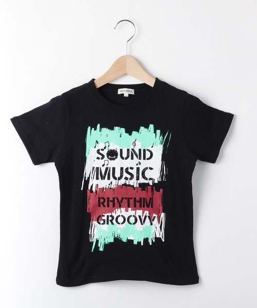 【150cmまで】MUSIC半袖Tシャツ