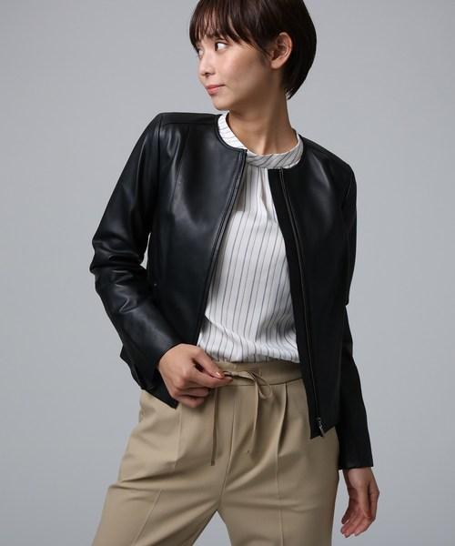 最も信頼できる ローザレザー ショートジップブルゾン(ブルゾン)|UNTITLED(アンタイトル)のファッション通販, アトリエクック:7e02715e --- arguciaweb.com