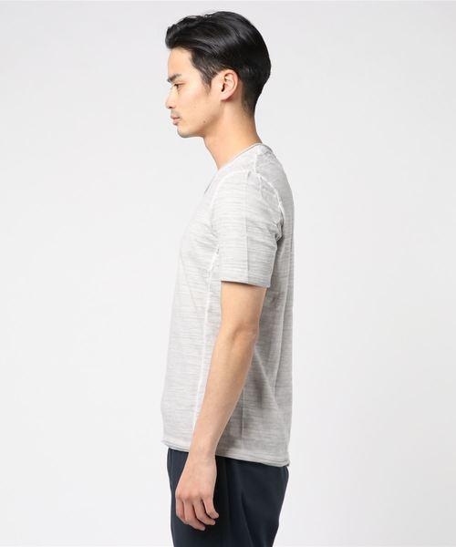 ARMURE(アルミュール)06ABK02/ムラゾメVネックTシャツ