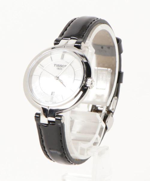 2018セール [ティソ] TISSOT TISSOT ホワイト フラミンゴ クォーツ ホワイト マザーオブパール文字盤 TISSOT レザー(腕時計)|TISSOT(ティソ)のファッション通販, ヒマラヤネット家具&インテリア:4d99de07 --- heimat-trachtenbote.de