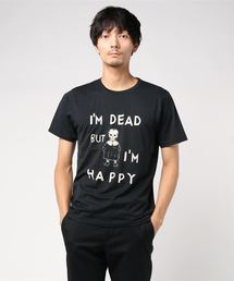NIAGARA/BUT I'M HAPPY Tシャツブラック