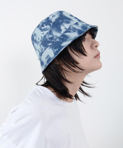 Narcissus(ナルシス)の「【cheap!!by vaNite】タイダイバケット(ハット)」|ブルー