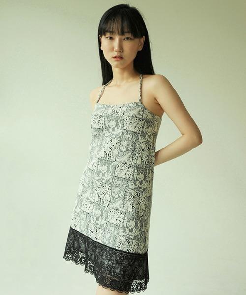 【NOOP 】Jacquard Zavia Dress / ジャカード ザヴィアワンピース