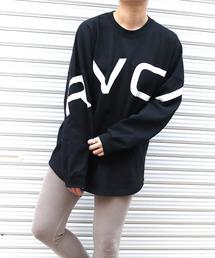 """RVCA(ルーカ)のRVCA(ルーカ) """"RVCA FAKE RVCA LTS""""/ルーカビッグシルエットロングTシャツ(Tシャツ/カットソー)"""