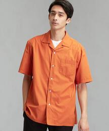 CM コットンシルク オープンカラー SS 半袖 シャツ