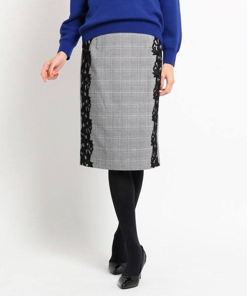 【サイズ交換OK】 レースレイヤードタイトスカート(スカート) COUP COUP DE CHANCE(クードシャンス)のファッション通販, おしゃれ雑貨TKコレクション:be9a72a3 --- blog.buypower.ng