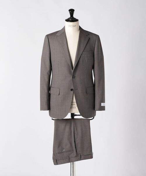<UNITED ARROWS> マイクロチェック 3B スーツ