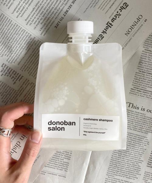 【donoban salon】Cashmere Shampoo 詰め替え用 600g