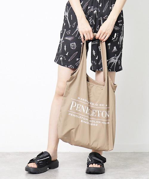 【 PENDLETON / ペンドルトン 】 ロゴ ショッパー  エコバック