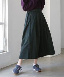 チノロングフレアスカート