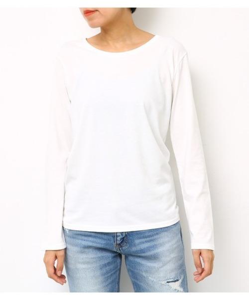 ベーシック ロング Tシャツ