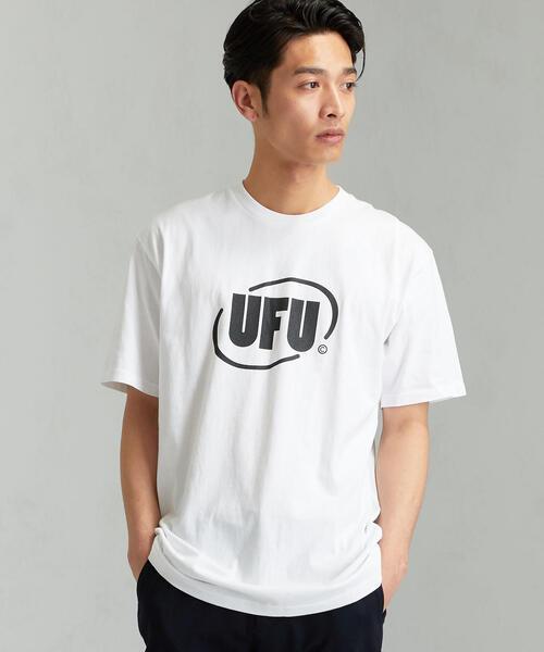 [ユーズドフューチャー]SC★UF ROUND LOGO Tシャツ