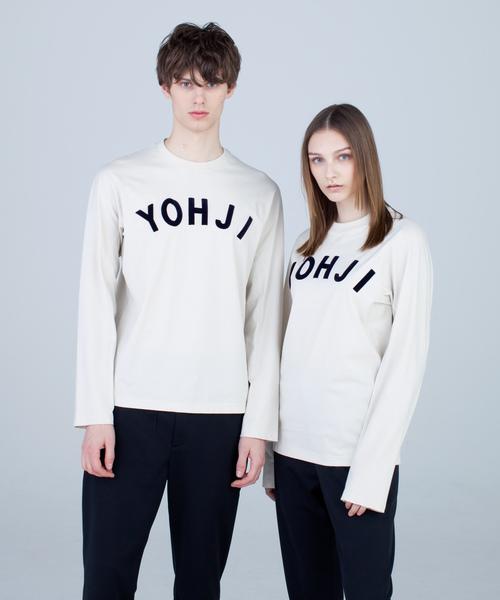 【ふるさと割】 U YOHJI LETTERS YOHJI LS TEE(Tシャツ LS/カットソー) Y-3|Y-3(ワイスリー)のファッション通販, 氷見市:439f8229 --- fahrservice-fischer.de