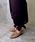 CAMINANDO(カミナンド)の「【CAMINANDO/カミナンド】BIT SLIP ON SHOES/2WAY  ビットスリッポンシューズ(スリッポン)」|詳細画像