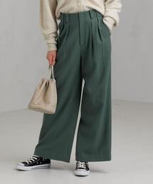 ◆SC フラノ タック ワイド パンツ ※