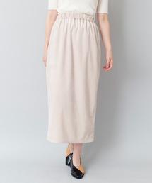 OSMOSIS(オズモーシス)のコーデュロイペンシルスカート(スカート)