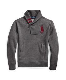 Polo Ralph Lauren Childrenswear(ポロラルフローレンチャイルドウェア)のショールカラー スウェットシャツ(その他トップス)