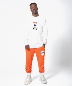The AAPE NEW YORK CITY collection SWEAT PANTS