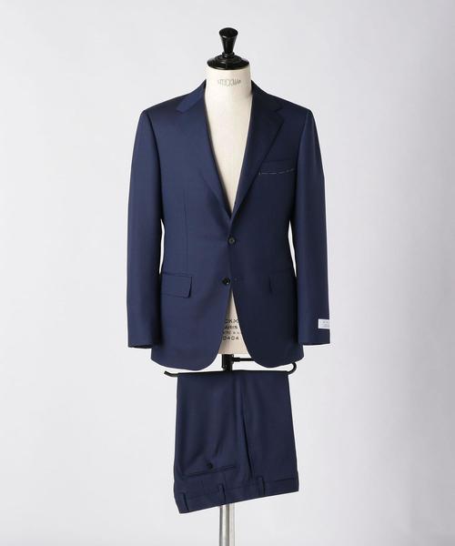 <UNITED ARROWS> ヘリンボーン 3B スーツ
