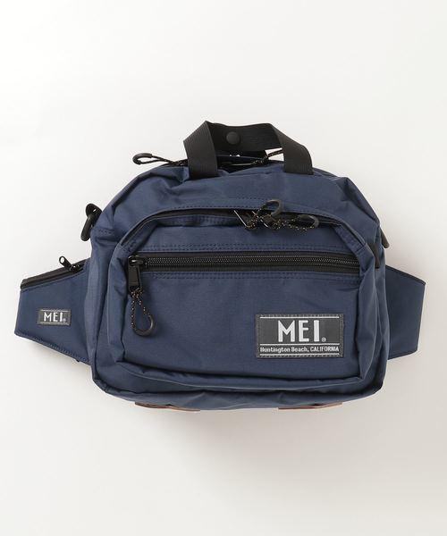 【 MEI / メイ 】20 OLD BASIC RUMBLE ボディバック ウエストポーチ ショルダーバック