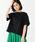 BEAMS BOY(ビームスボーイ)の「Goodwear / カスタム ビッグ 半袖 Tシャツ 0170CL(Tシャツ/カットソー)」 ブラック