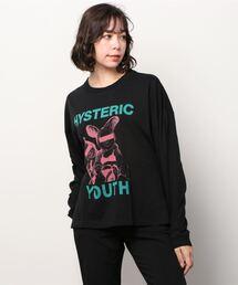 HYSTERIC YOUTH オーバーサイズTシャツブラック