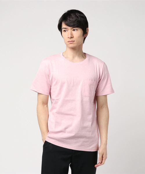 :Anti Soaked杢クルーネックTシャツ