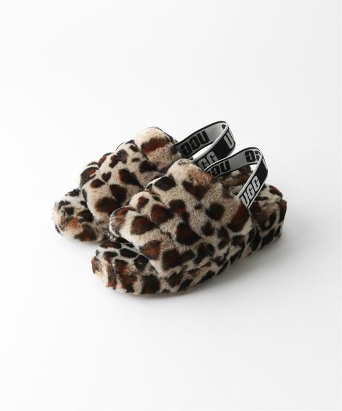 【ネット限定】 【UGG Slide/アグ Yeah】Fluff Yeah Slide relume leopard:シューズ(その他シューズ)|UGG(アグ)のファッション通販, cicak & tokek:27b19e1b --- 888tattoo.eu.org