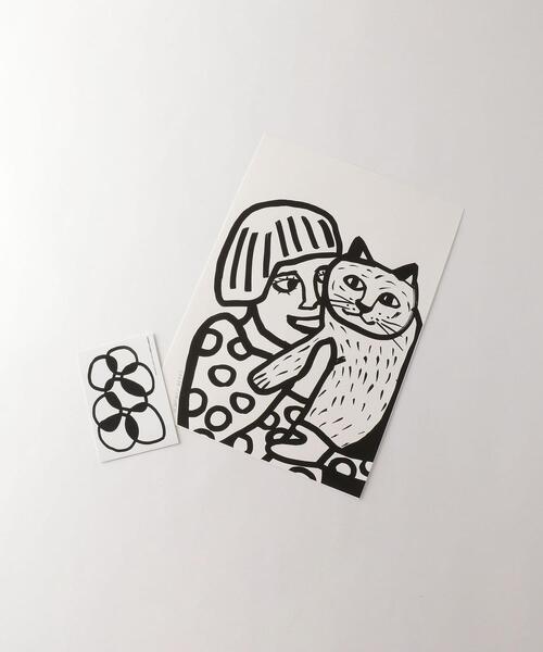 <SARAH CORYNEN>CAT POSTER/ポスター