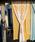 チャイハネ(チャイハネ)の「【チャイハネ】セレーネカーテン178cm タッセル付き(インテリアアクセサリー)」|イエロー