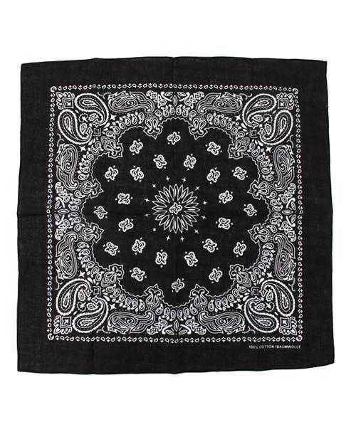 WEGO(ウィゴー)の「WEGO/バンダナ(バンダナ/スカーフ)」 ブラック