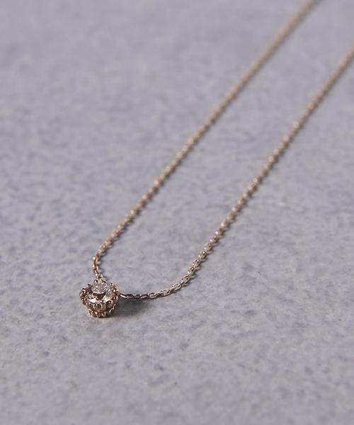<BROWN DIAMOND(ブラウン ダイヤモンド)> MILL 006 ネックレス■■■▲